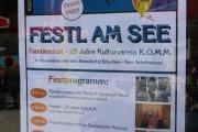 FESTL AM SEE - 25 Jahre Kulturverein K.O.M.M.