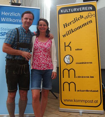 Helmut und Ulrike Schweiger